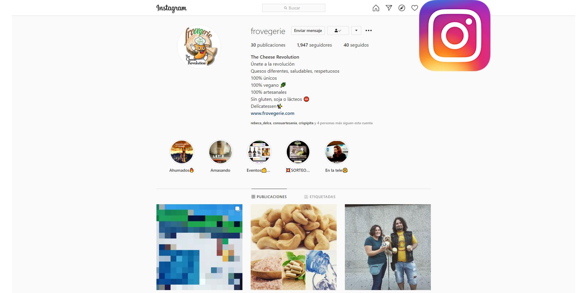 Instagram Frovegerie Cheese Revolution