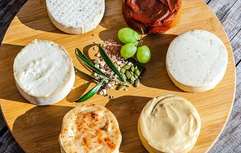 Variedad en sabores de quesos Frovegerie