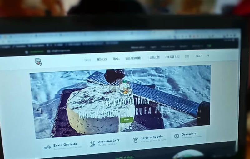Nuevo diseño web de FROVEGERIE
